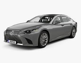 3D Lexus LS XF50 with HQ interior 2017