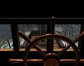 3D Cog-type sailing ship