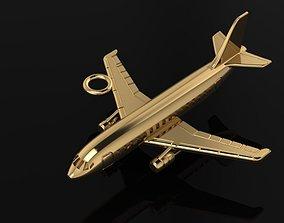 Jet Airplane pendant 3D print model