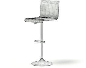 Salon Chair 3D model beauty