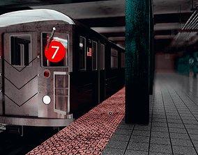 3D Subway Station Assets
