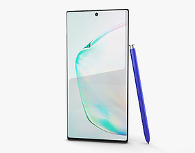 3D Samsung Galaxy Note10 Plus Aura Glow
