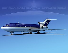 3D Boeing 727-100 Executive