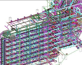 Revit MEP All System Project Model