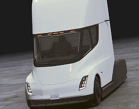 Tesla Semi 3D model