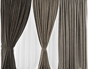 curtains Curtains 3D model