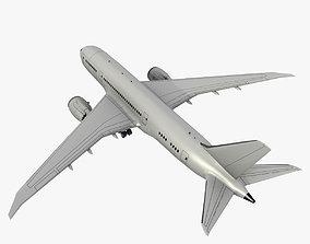3D asset Boeing 787 8