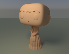 Custom Pop Frida Kahlo DIY Figure 3D Print Model