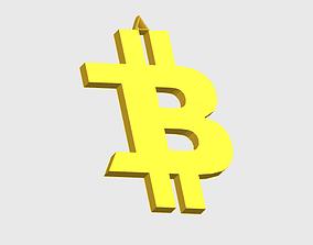 Pendant Bitcoin 3D printable model