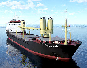 Bulk Carrier 3D asset realtime