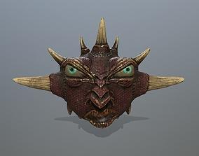 monster 3D model game-ready