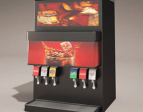 3D model Tower drinks