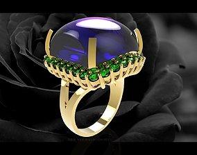 340 Luxury Women Ring 3D print model rings