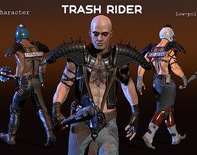 3D model Trash Rider