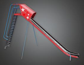 3D model PAP - Slide 01 - PBR Game Ready