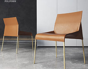 3D model Chair Poliform Seattle