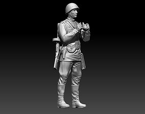 Officer soldier Russia 3D printable model