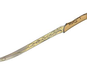 Legolas Dagger - Lord of the Rings 3D print model