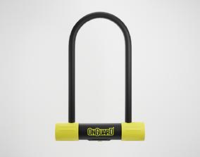 U-Look OnGuard Bike Lock 3D asset low-poly