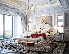 classic bedroom cursor 3D model