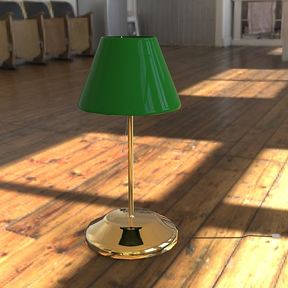 Desk Lamp by Cihan Toker