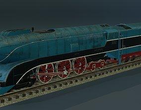 Locomotive 2-3-2B 3D model