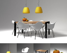 table set 2 3D model