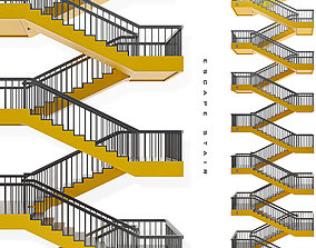Scape-stair-03 3D model