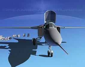 Mig-23 Fighter Bare Metal 3D model
