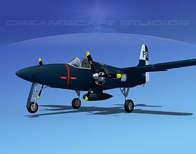 Grumman F7F Tigercat V03 3D