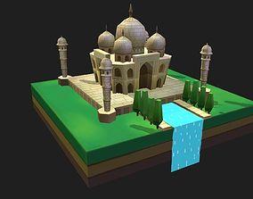 3D asset World Architecture 3 Taj Mahal