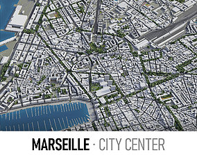 3D model Marseille