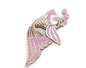 desing fish necklace 3D printable model