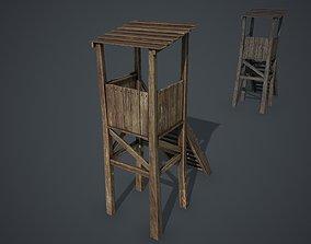 Watchtower 3D asset