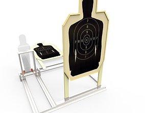 Police Target 3D asset