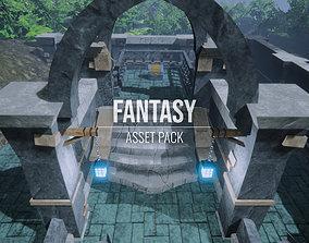 Fantasy - Asset Pack - Unreal Engine UE4 3D model