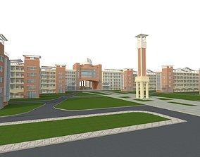block School 3D model