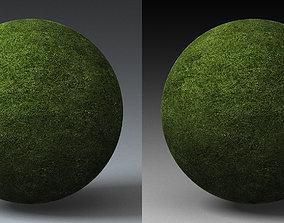 3D model Grass Landscape Shader 007