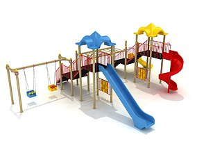 3D model Metal Play Park 14