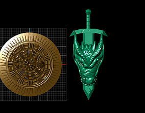 Dragon Sword 3D printable model
