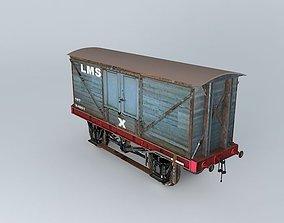 LMS BOX VAN 3D model