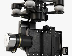 DJI Zenmuse H4-3D gimbal for GoPro Hero3-4 animated