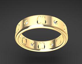 3D print model Wedding Ring Engraving