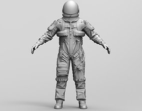NASA Astronaut Spacesuit 3D model