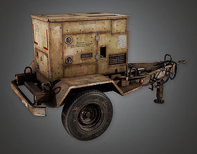3D model Military Gas Genrator 01- MLT - PBR Game Ready