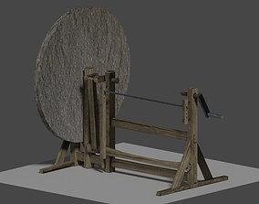 3D asset leonardo da vincis manual lathe