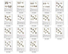 Collection- Bulk Earrings-0001-stl-25 3D printable model
