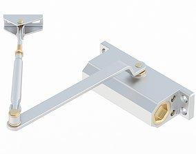 3D model Hydraulic Door Closer