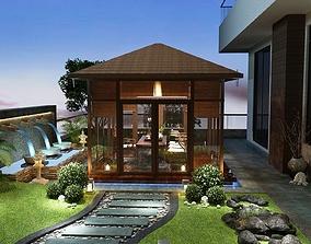3D Gazebo garden house