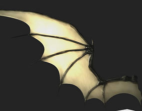 Bat Wing Rigged 3D model